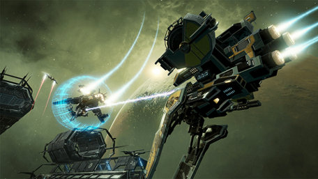 EVE: Valkyrie Trailer Screenshot