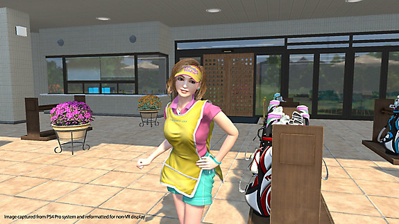 Everybody's Golf VR - Screenshot INDEX