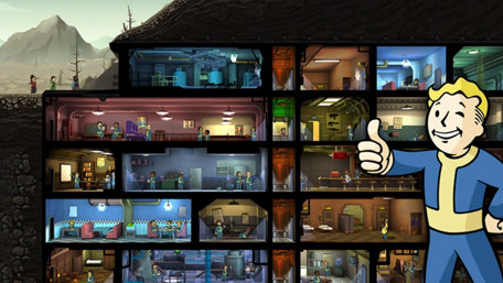 Fallout Shelter Trailer Screenshot