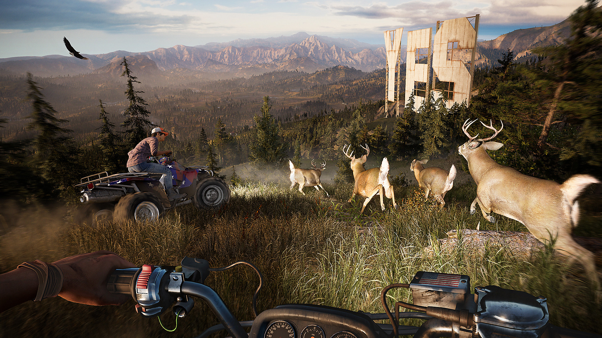 Far cry 5 game ps4 playstation for Ps4 hunting and fishing games