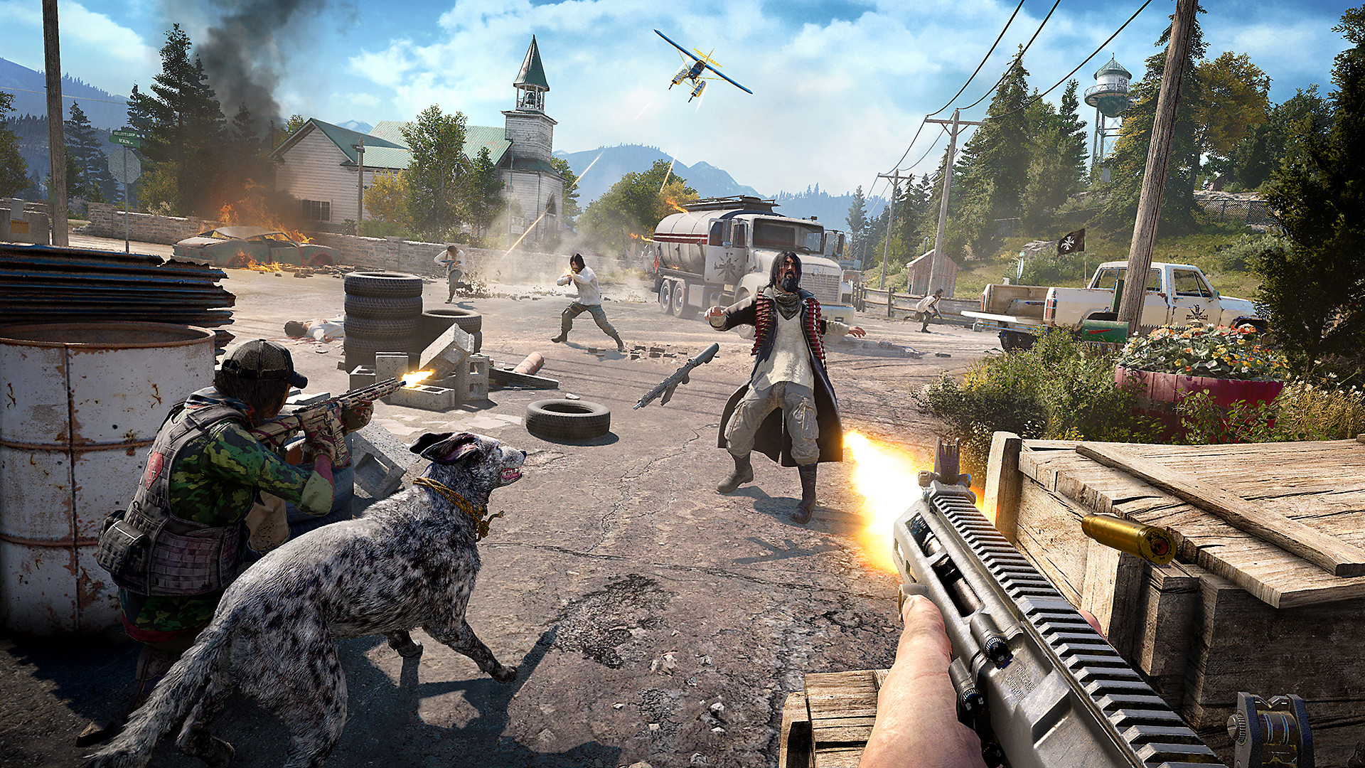 Far Cry 5 Game   PS4 - PlayStation