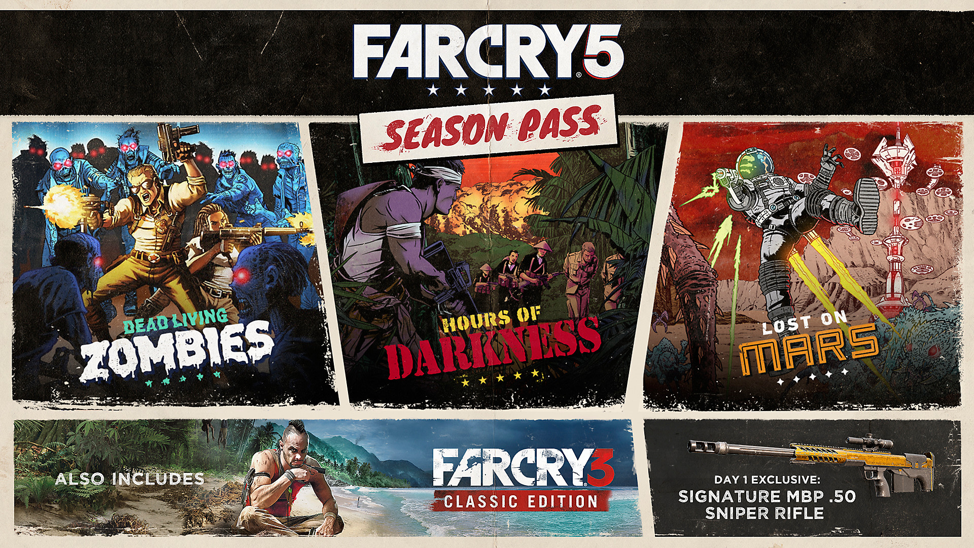 Far Cry Season Pass art