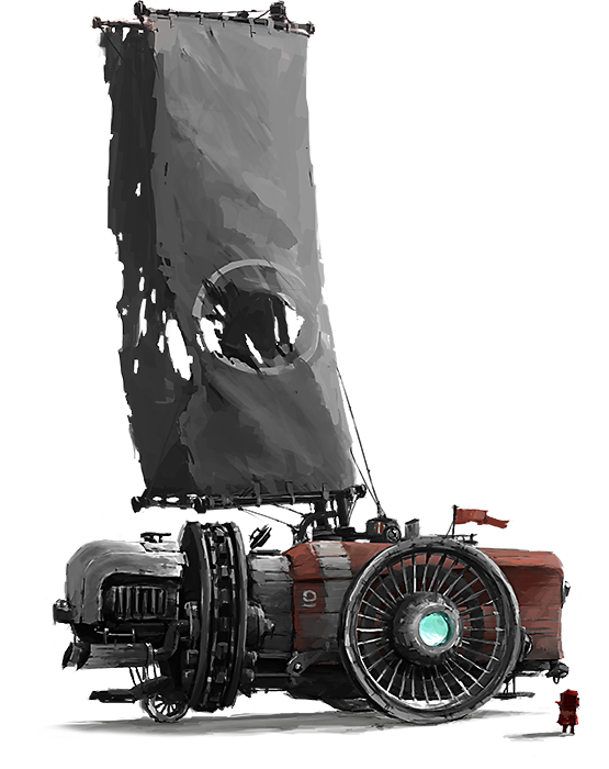 FAR: Lone Sails Vehicle