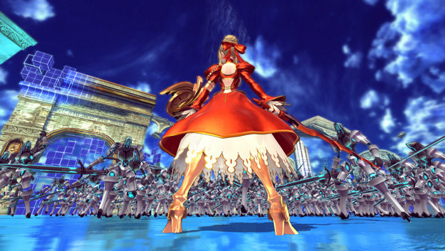 Fate/EXTELLA: The Umbral Star Screenshot 1