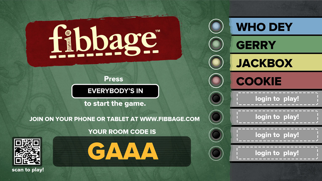 Fibbage: The Hilarious Bluffing Party Game Game | PS4 - PlayStation