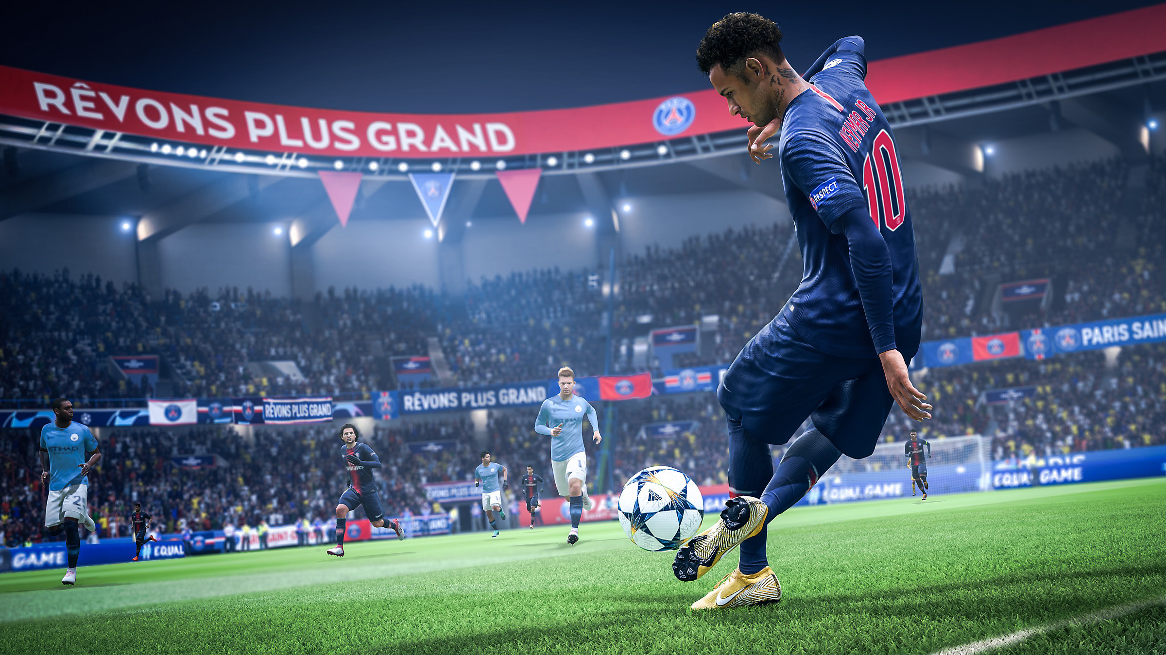 FIFA 19 action image - Neymar on the pitch