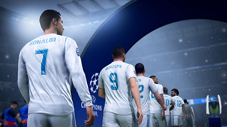 FIFA 19 Ronaldo and others take the field