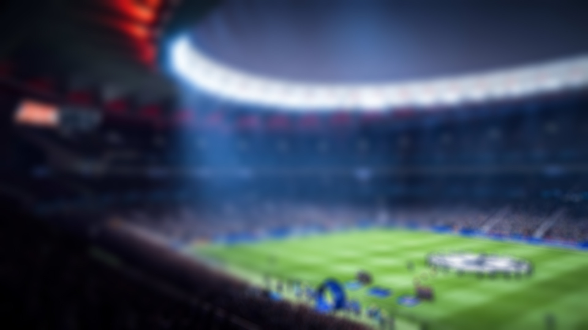 FIFA 19 - Soccer field background art