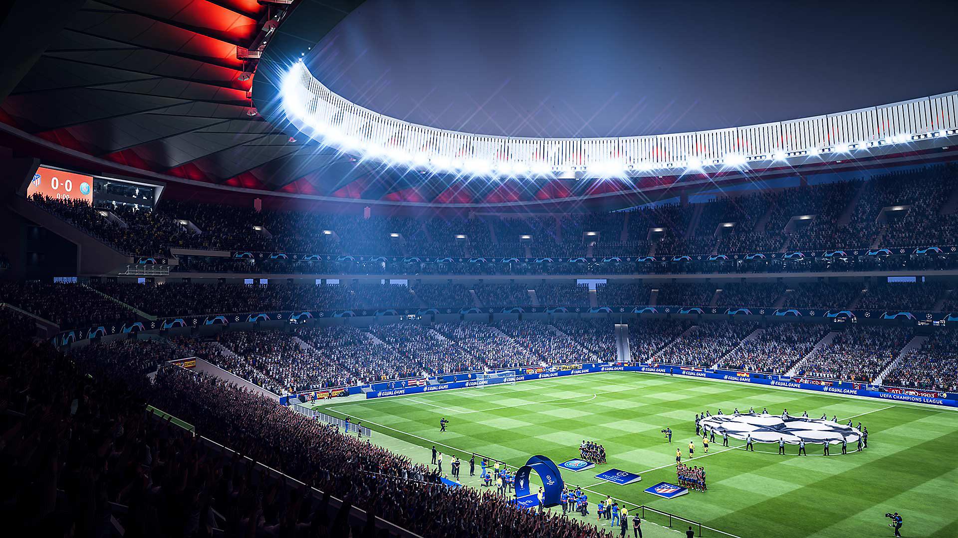 FIFA 19 - Capture d'écran des modes de jeu