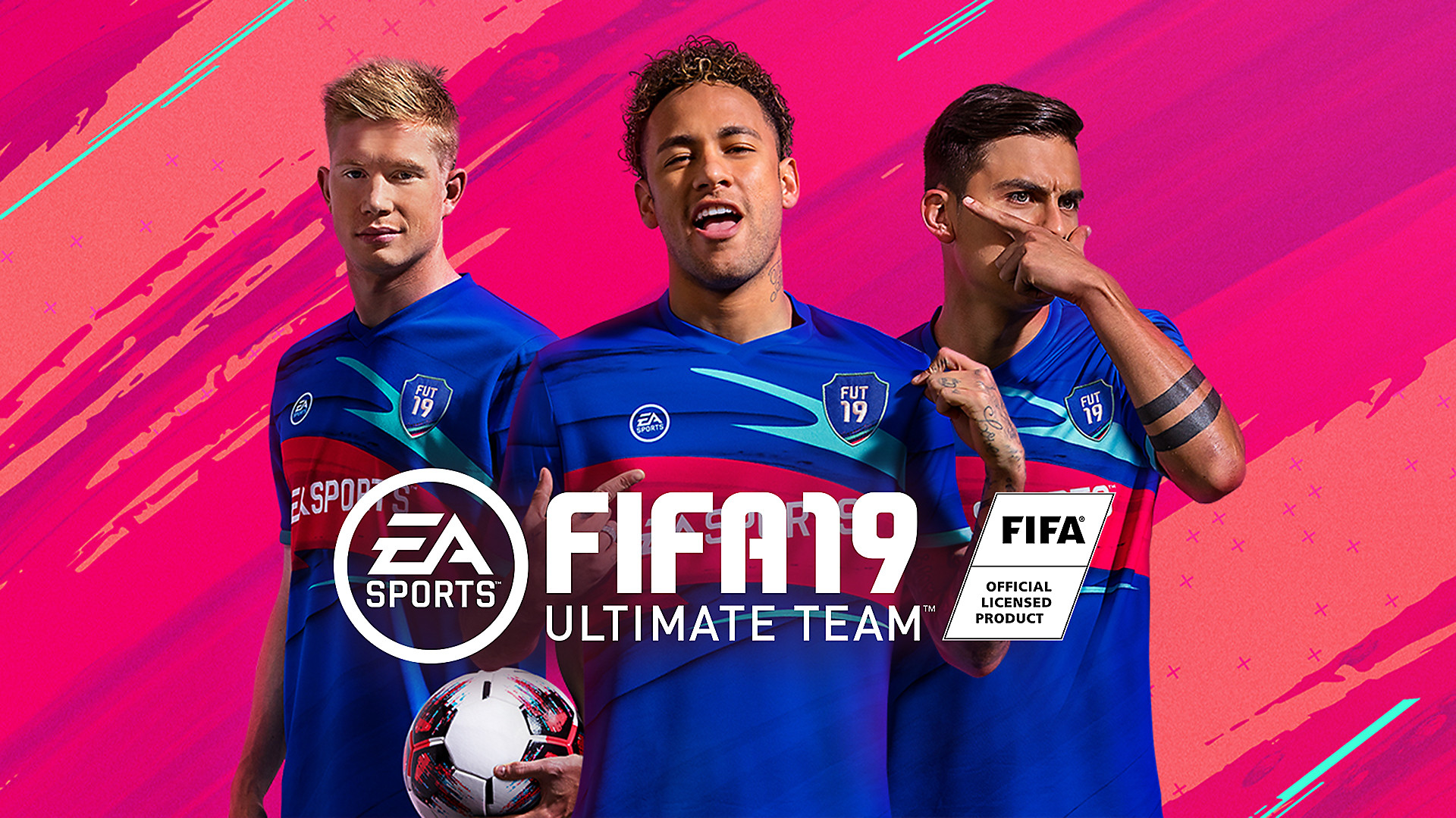 FIFA Ultimate Team Key Art