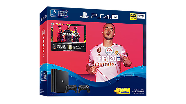 PlayStation 4 Pro FIFA 20 Bundle