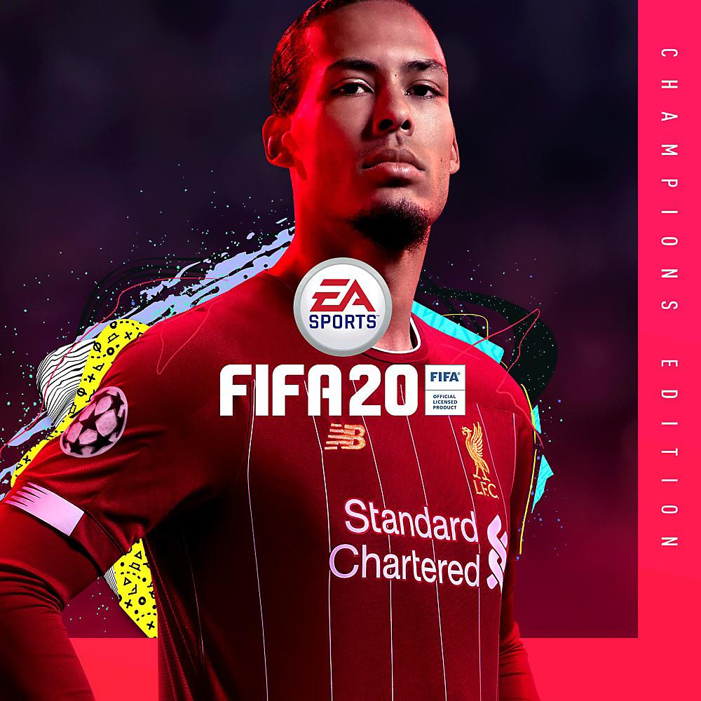 FIFA 20 Champions Edition art