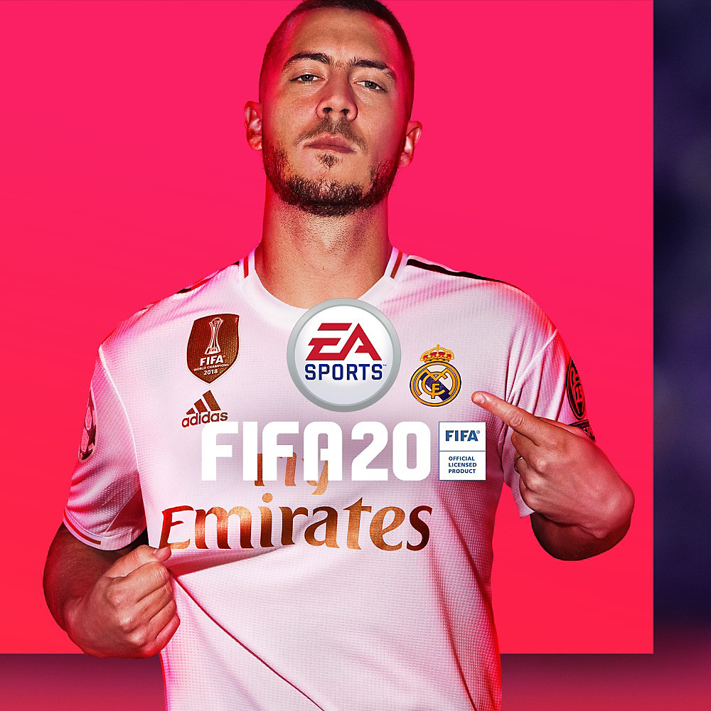 EA Sports FIFA 20 Box Art
