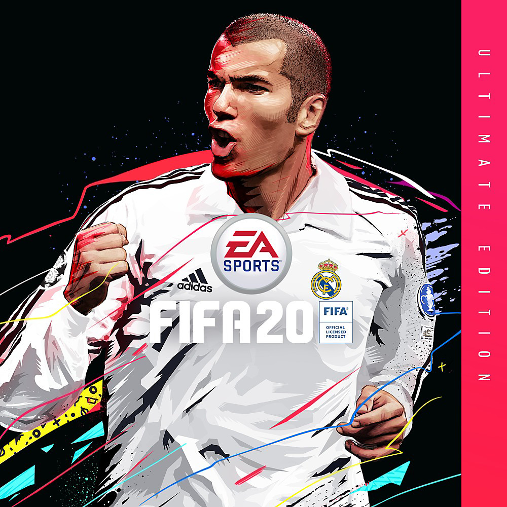 FIFA 20 Ultimate Edition art