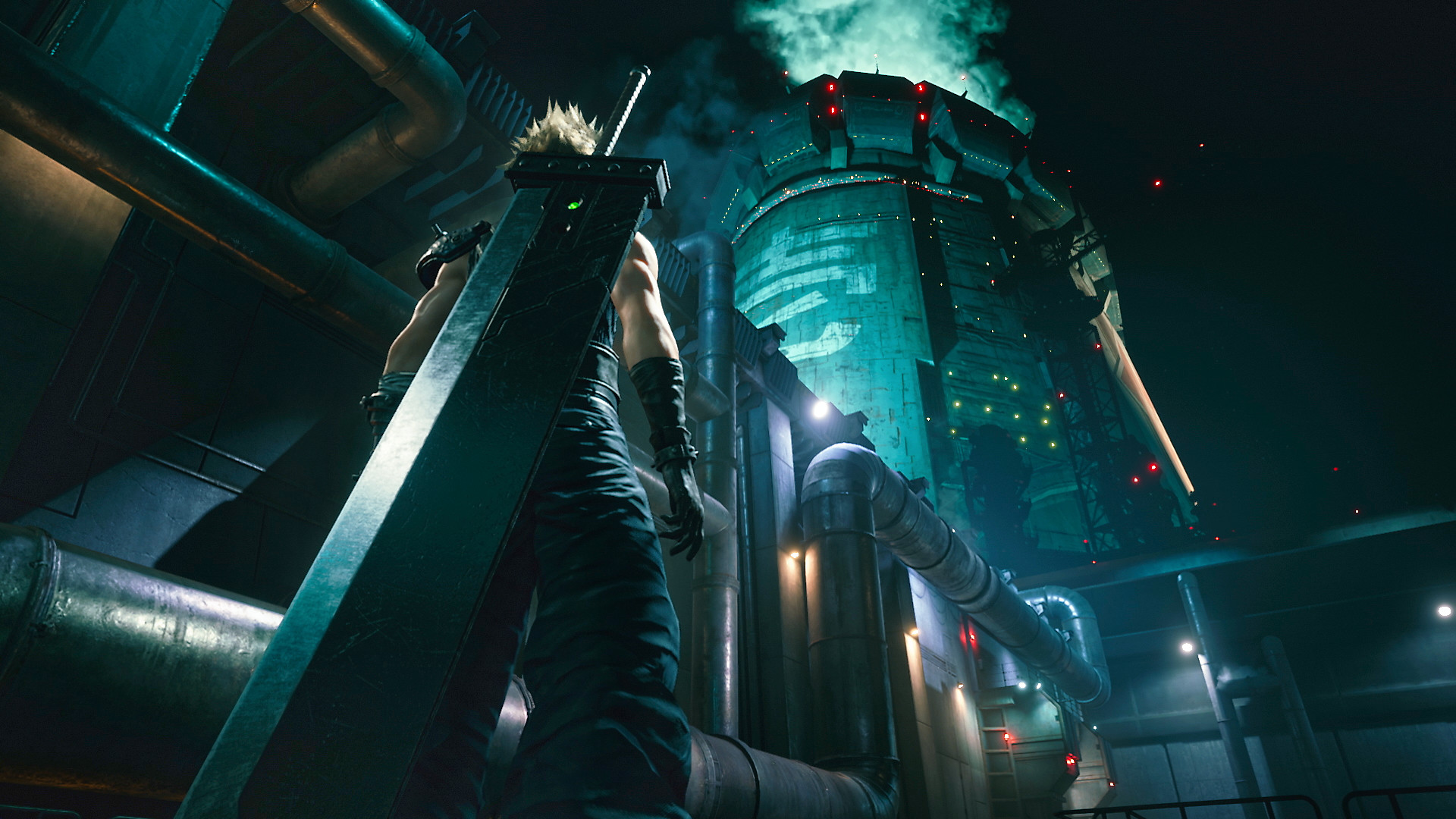 Final Fantasy VII - Background Screenshot