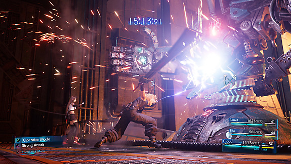 Final Fantasy VII Remake [Título provisional] - Screenshot INDEX