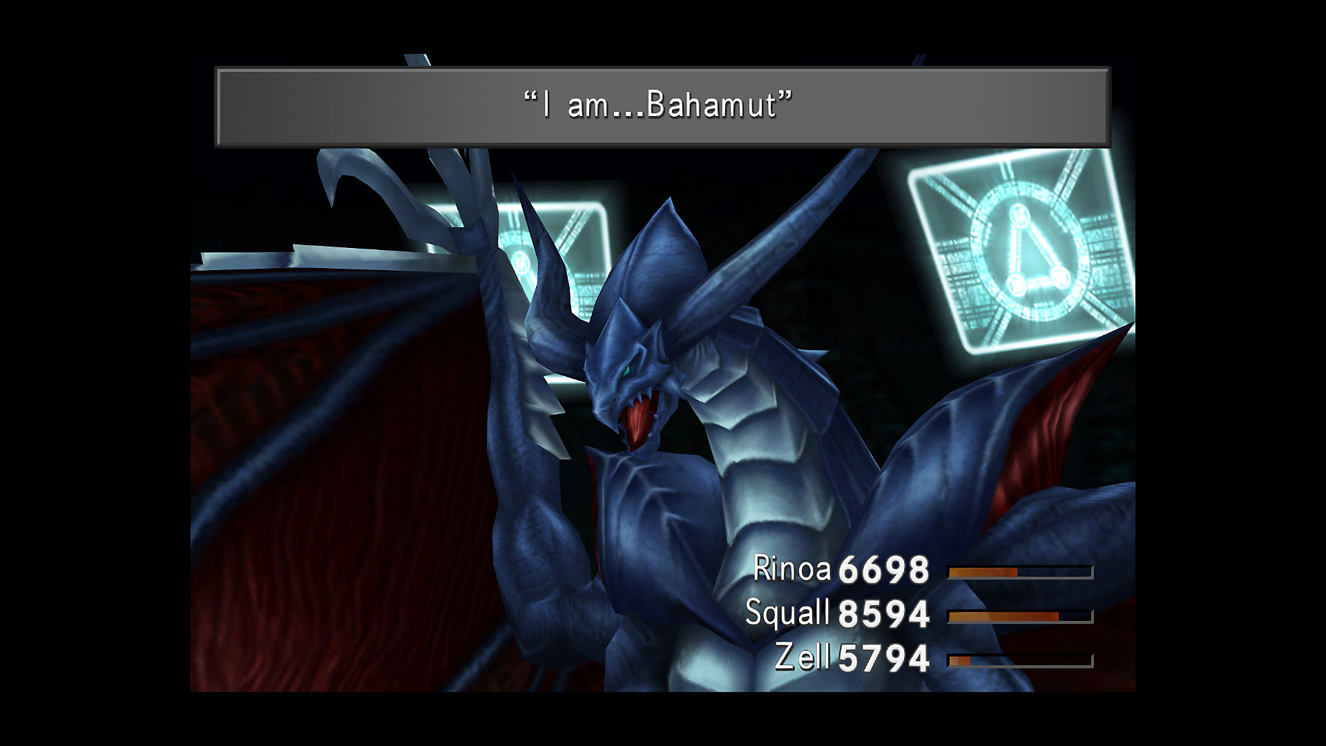 FINAL FANTASY VIII REMASTERED – Bahamut