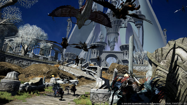 Final Fantasy XIV: A Realm Reborn Screenshot 1