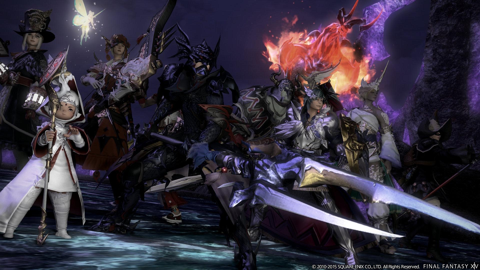Final Fantasy XIV: A Realm Reborn Game | PS4 - PlayStation