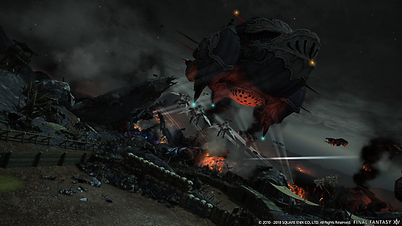 FINAL FANTASY XIV: Stormblood | A Requiem for Heroes - Screenshot INDEX