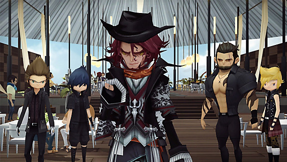 FINAL FANTASY XV POCKET EDITION HD - Screenshot INDEX