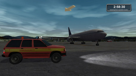 Firefighters: Airport Fire Department Trailer Screenshot