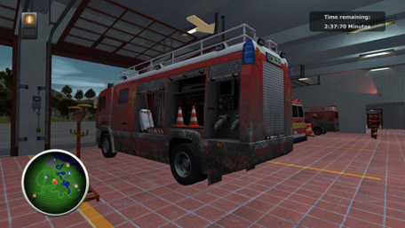 Firefighters – The Simulation Trailer Screenshot