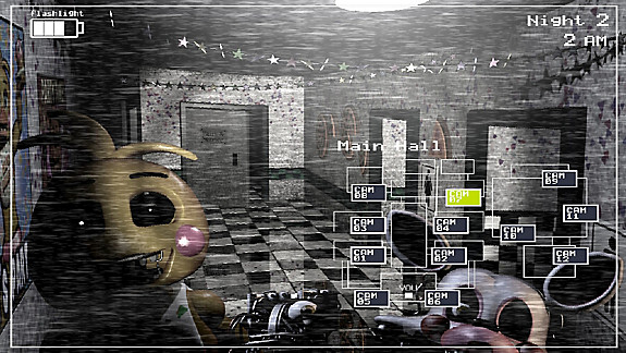 Five Nights at Freddy's 2 - Screenshot INDEX