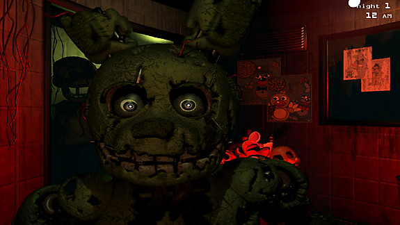 Five Nights at Freddy's 3 - Screenshot INDEX