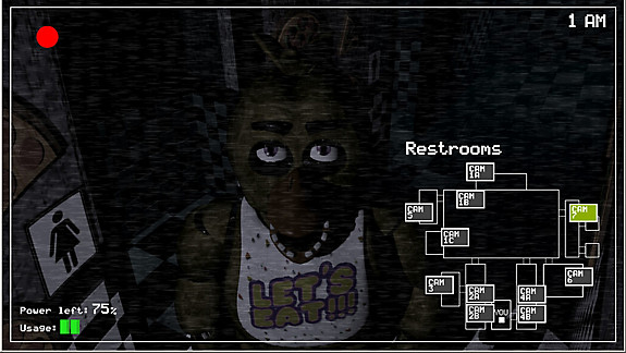 Five Nights at Freddy's - Screenshot INDEX