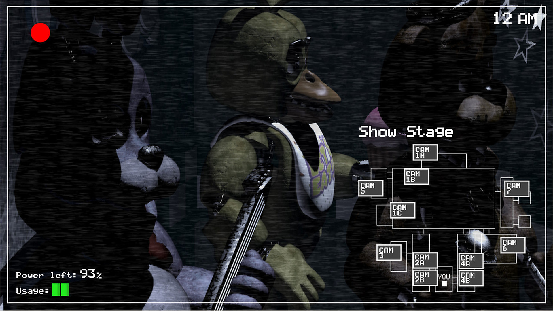 Five Nights at Freddy's en action