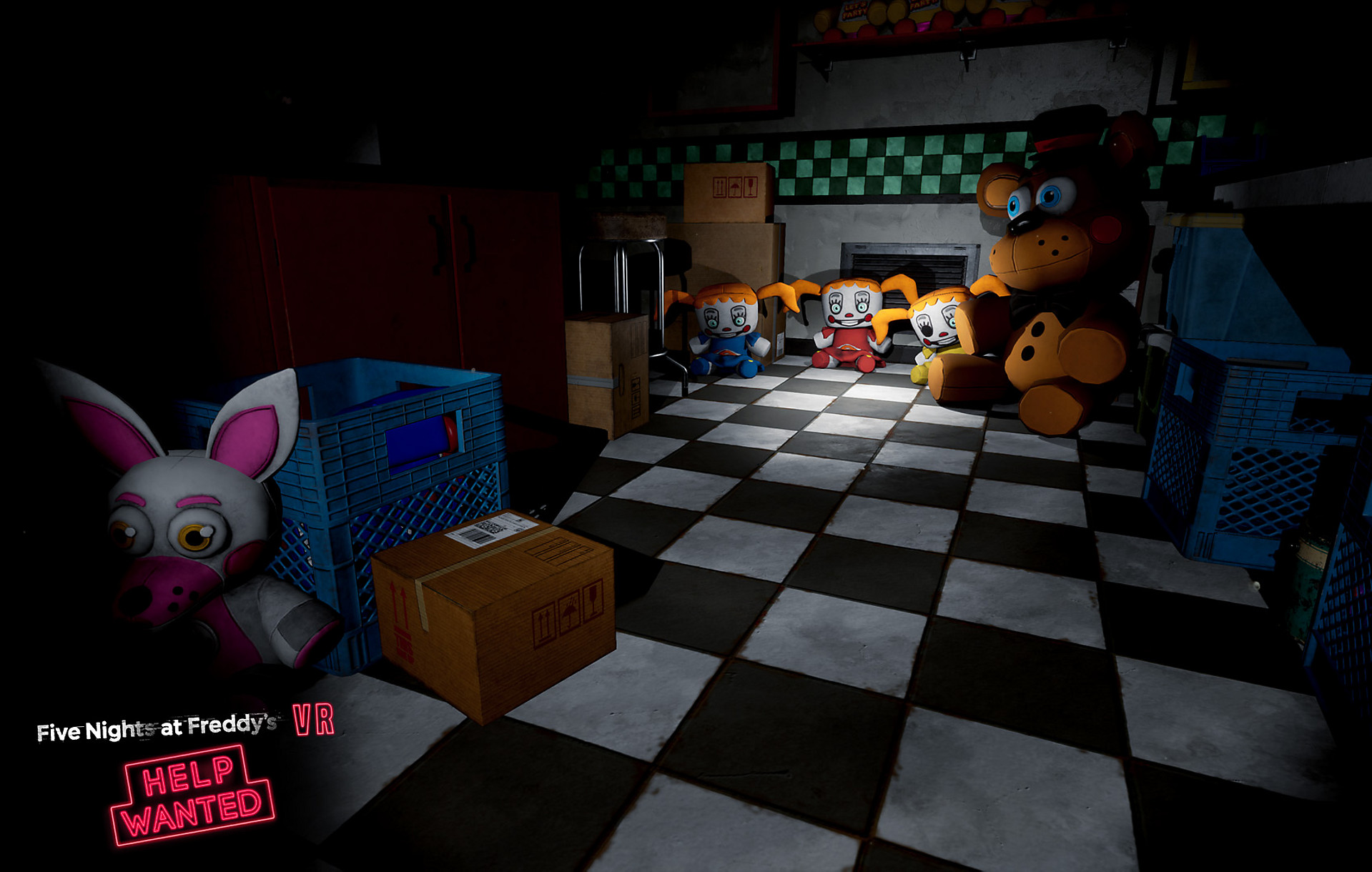 Five Nights At Freddy S Vr Help Wanted Game Ps4 Playstation