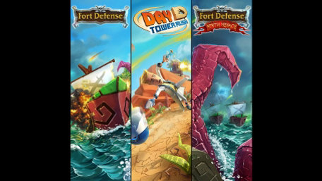 Fort Defense, Fort Defense North Menace & DayD Tower Rush Trailer Screenshot