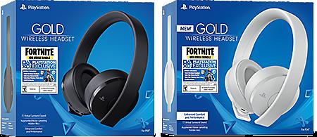 Fortnite Neo Versa Gold Wireless Headset Bundle Ps4 Playstation