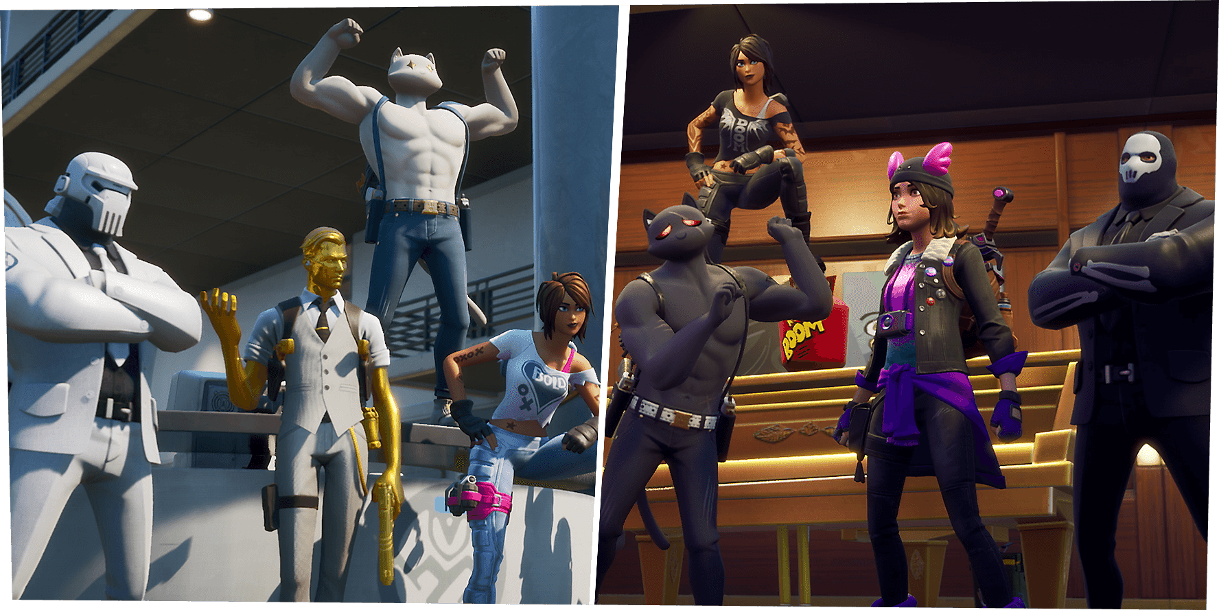 Fortnite Chapter 2 - Season 2 - Play Spy Games - Character Images