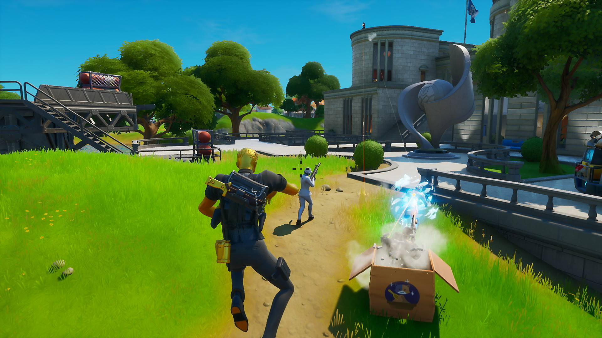 Fortnite Chapter 2 - Season 2 - Play Spy Games - Screenshot