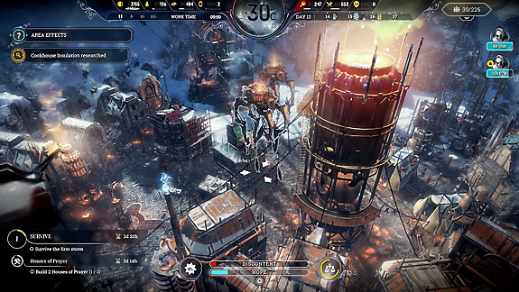 Frostpunk: Edición para consola - Screenshot INDEX