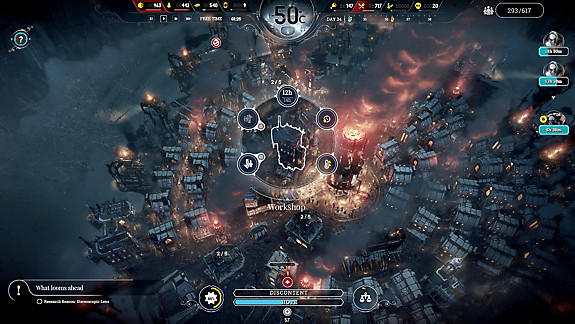 Frostpunk: Console Edition - Screenshot INDEX