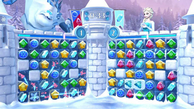 Frozen Free Fall: Snowball Fight Screenshot 4