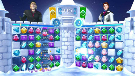 Frozen Free Fall: Snowball Fight Trailer Screenshot