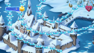 Frozen Free Fall: Snowball Fight Screenshot 2