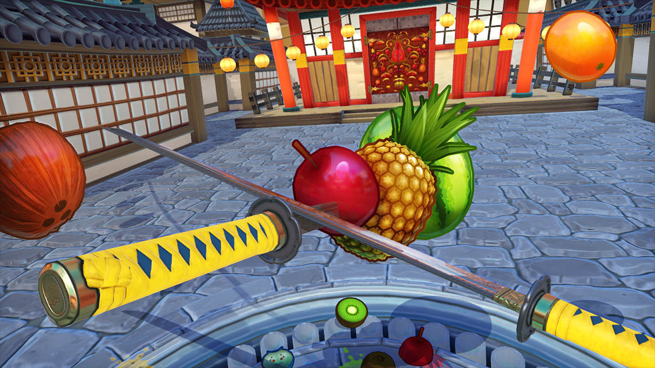 Fruit ninja free game - Fruit Ninja Vr Screenshot 1