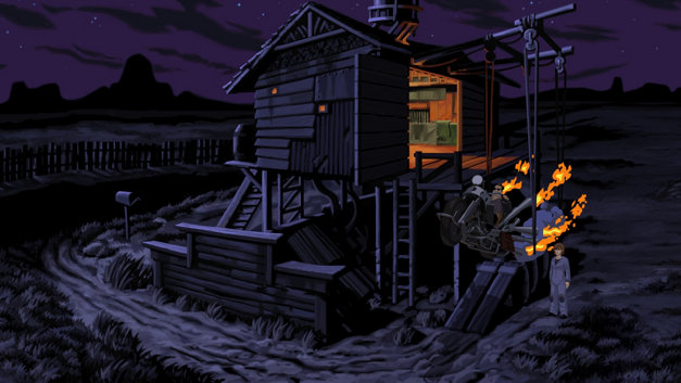 Full Throttle Remastered Screenshot 1