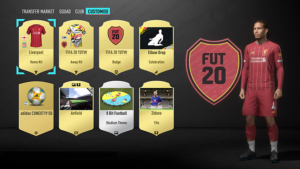 FUT customization