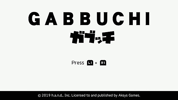 Gabbuchi - Screenshot INDEX