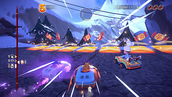 Garfield Kart - Furious Racing - Screenshot INDEX