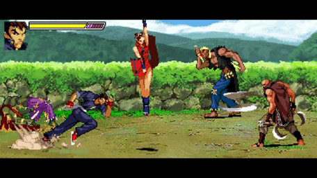 Gekido Kintaro's Revenge Trailer Screenshot