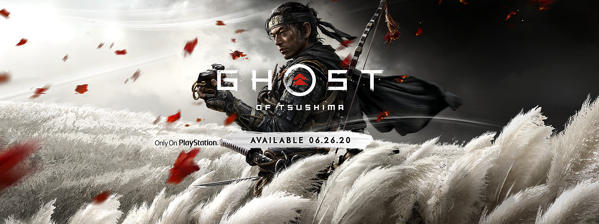 Ghost of Tsushima - Available June 26, 2020