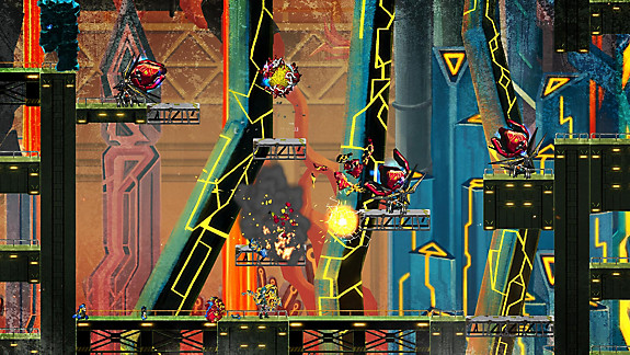 GIGA WRECKER ALT. - Screenshot INDEX