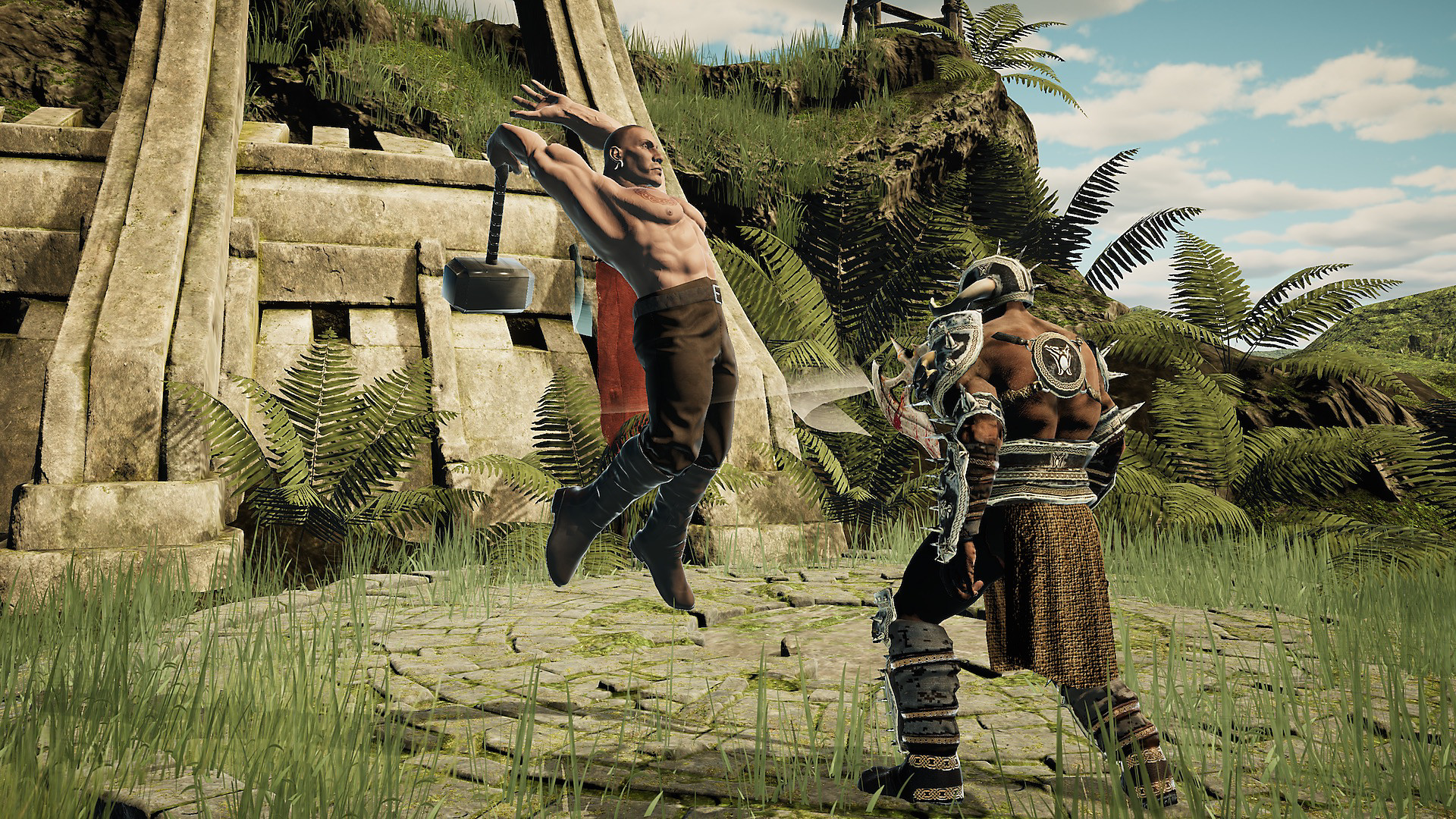 Gameplay de Gladiator: Blades of Fury